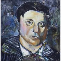 Pauvre Picasso, olio su tela, 50 x 50 cm