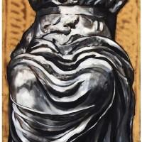 Dioniso, olio su tavola, 150 x 60 cm