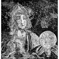 La Costelazione del Navigatore, Linografia, 70 x 50 cm