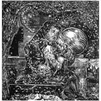 Newton Innamorato,  Linografia, 70 x 50 cm