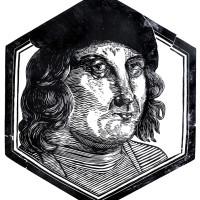 Capitano di Ventura, Linografia, 60 x 40 cm