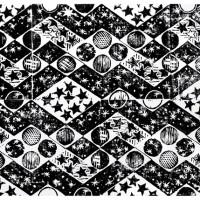 Costellazione I, Linografia, 40 x 60 cm