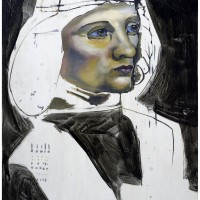 Il Musico, Olio su Tavola, 70 x 50 cm
